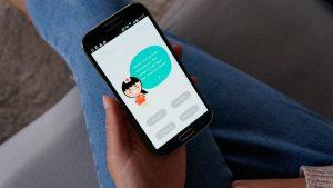Skoliose-App von BeMobil - erster Entwurf (Foto: BeMobil)