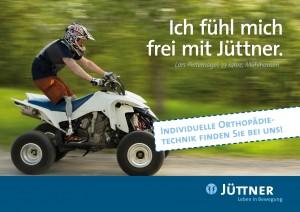 Anzeige der Jüttner Orthopädie KG